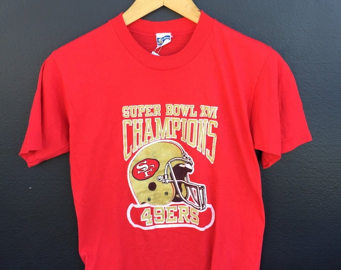 San Francisco Forty Niners 49ers 1982 Vintage Tshirt