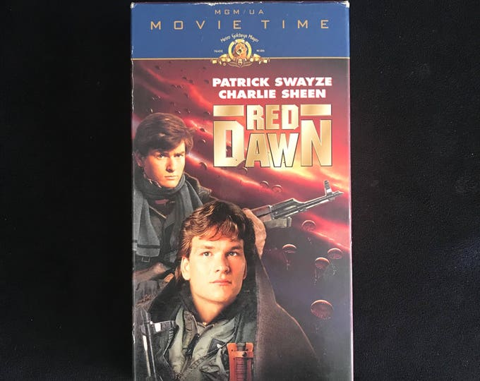 RED DAWN 1984 Vintage Movie VHS