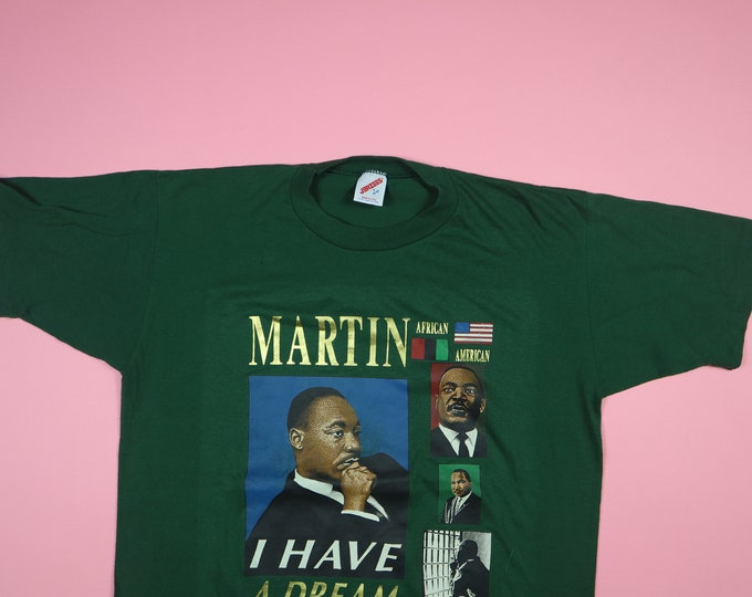 Martin Luther King JR I Have A Dream MLK Vintage Tshirt