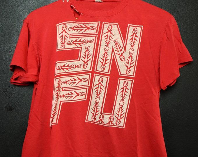 SNFU 1980's vintage Tshirt