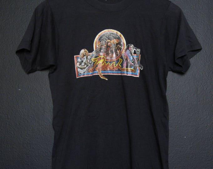 Rush 1970's vintage Tshirt