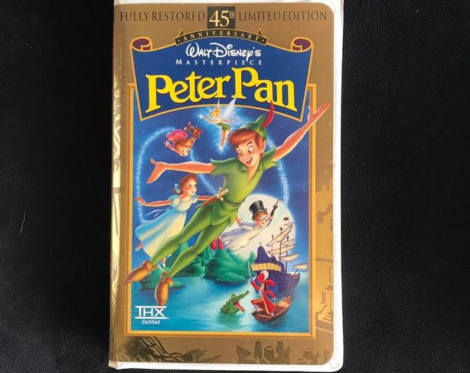 PETER PAN Disney 1990's Vintage Movie VHS