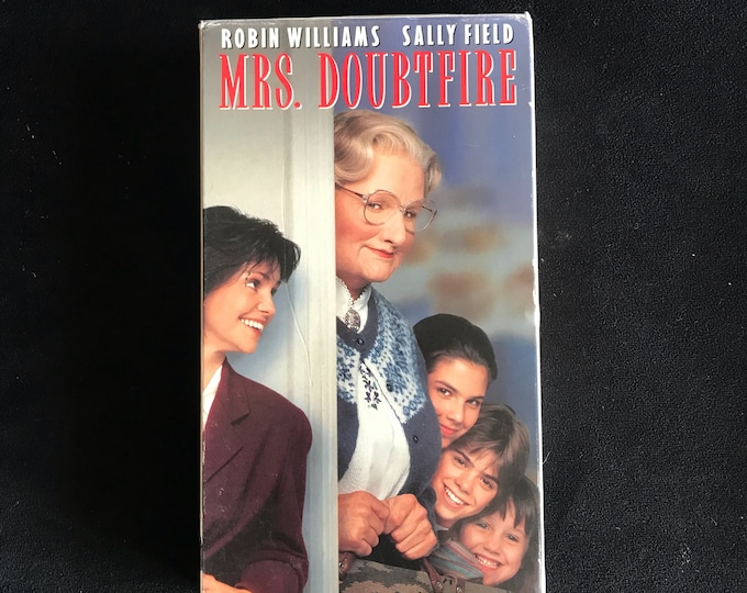 MRS DOUBTFIRE 1990's Vintage Movie VHS