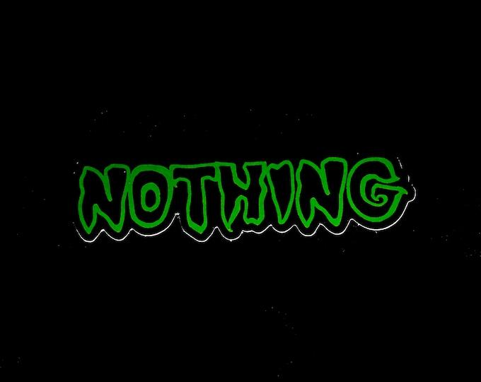 Nothing MM Sticker