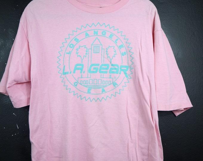 LA Gear 1990's Vintage Pink Tshirt