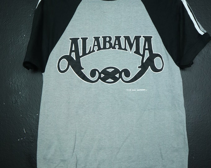 ALABAMA 40 hour work week tour 1985 vintage Tshirt