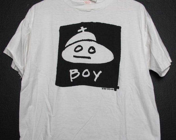 Boy Girl  1987 vintage Tshirt