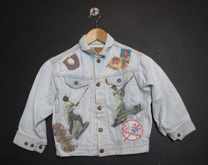 Levi's New York Yankees Youth Vintage Denim Jacket