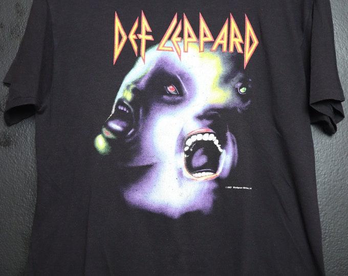 Def Leppard Hysteria 1987 vintage Tshirt
