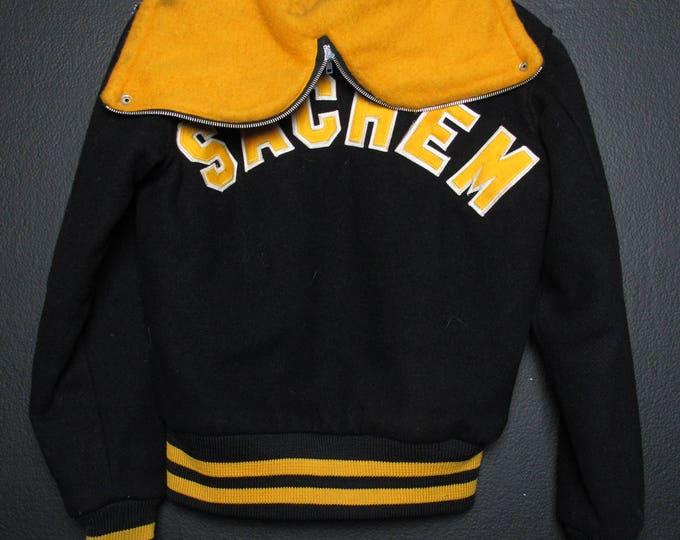 Sachem vintage VARSITY wool jacket
