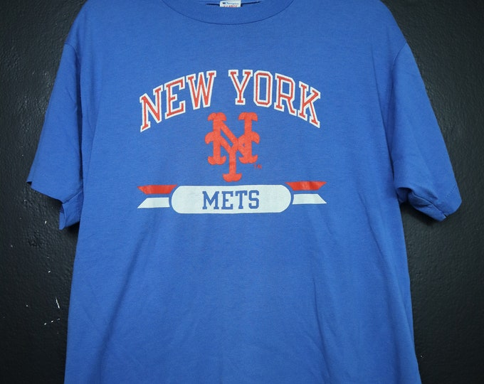 New York Mets MLB vintage Tshirt Champion brand