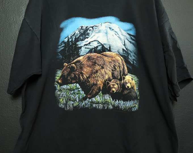 Grizzly Bears 1991 vintage Tshirt