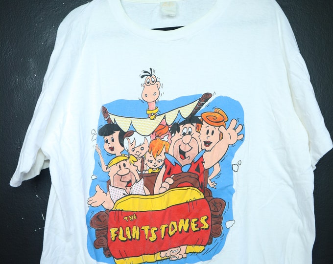 The Flintstones Family 1990's vintage Tshirt