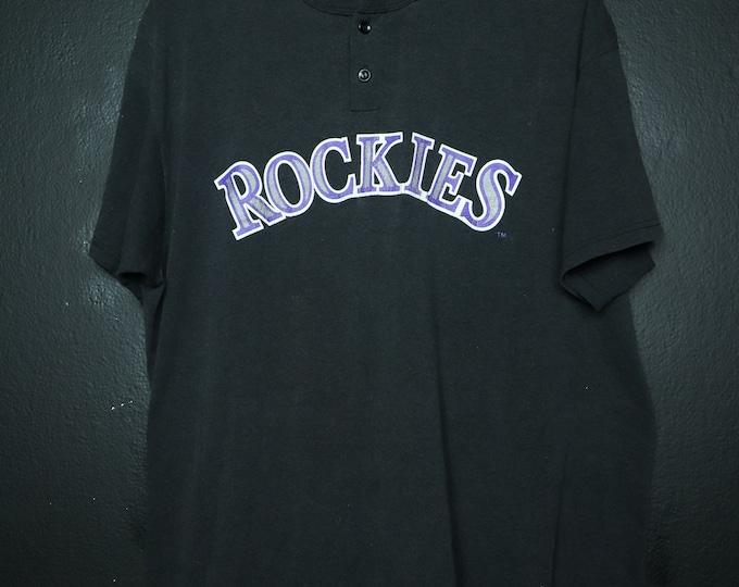 MLB Colorado Rockies 1990's vintage Tshirt