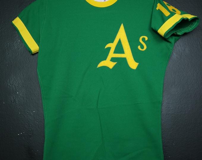 MLB Oakland Athletics A's 1980's vintage Tshirt