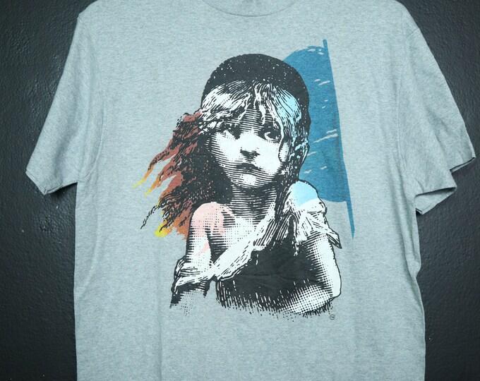Les Miserables 1986 vintage Tshirt