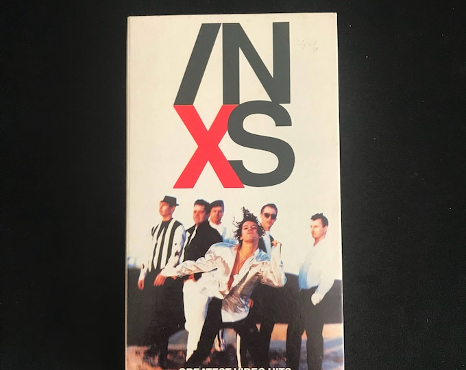 INXS Greatest Video hits 1990's Vintage Movie VHS