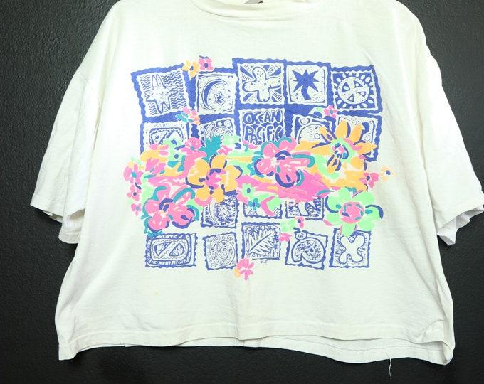 Ocean Pacific OP 1990's Vintage Tshirt