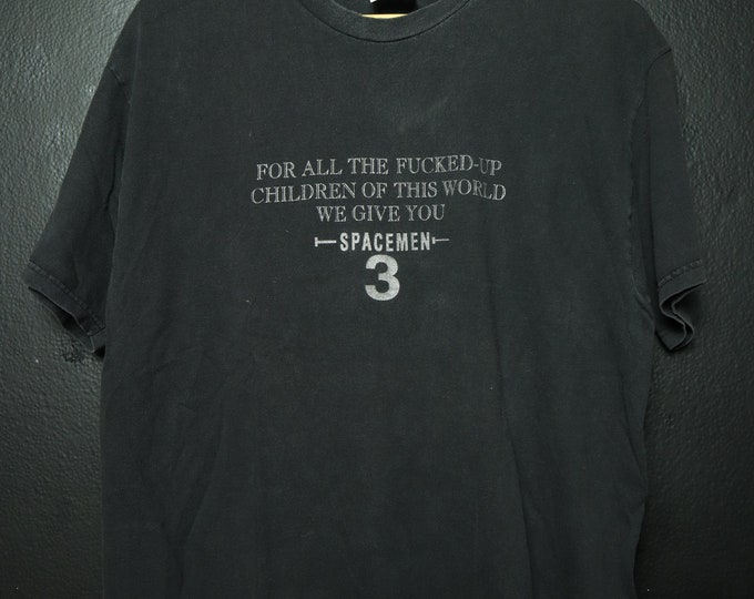 Spacemen 3 For all The F*cked Up Children 1990's/2000's Tshirt