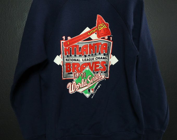Atlanta Braves World Series MLB 1991 vintage Sweatshirt