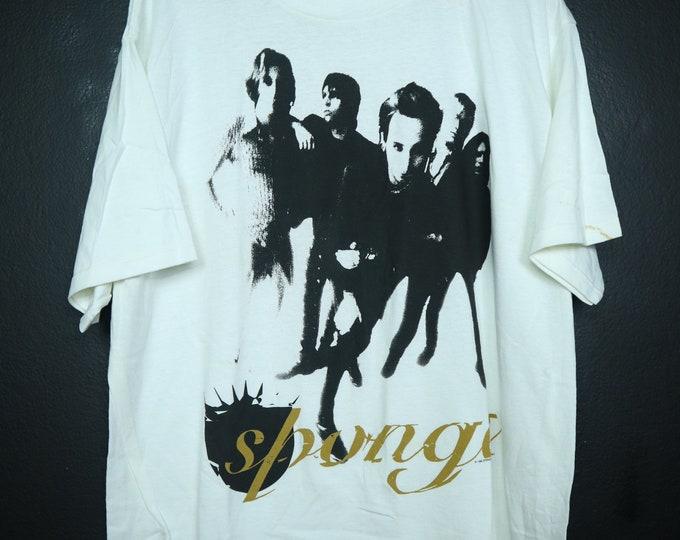 Sponge Wax Ecstatic 1996 vintage Tshirt