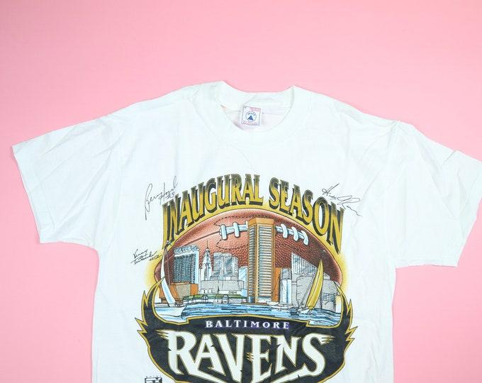 NFL Baltimore Ravens Inaugural Season 1990's vintage Tshirt