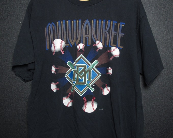 Milwaukee BREWERS MLB 1994 vintage Tshirt