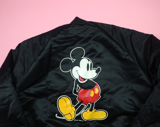 Classic Mickey Mouse 1990's vintage Disney Chalk Line Jacket