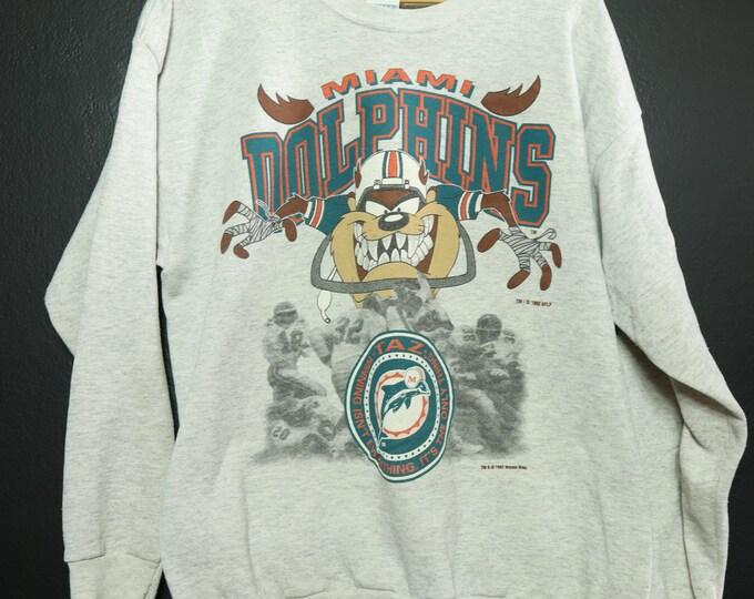 NFL Miami Dolphins Taz 1992 vintage Sweatshirt