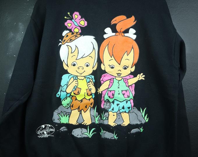 The Flintstones Pebbles Bam Bam 1994 vintage Sweatshirt