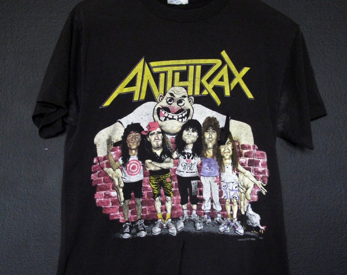 Anthrax State of Euphoria 1988 vintage Tshirt