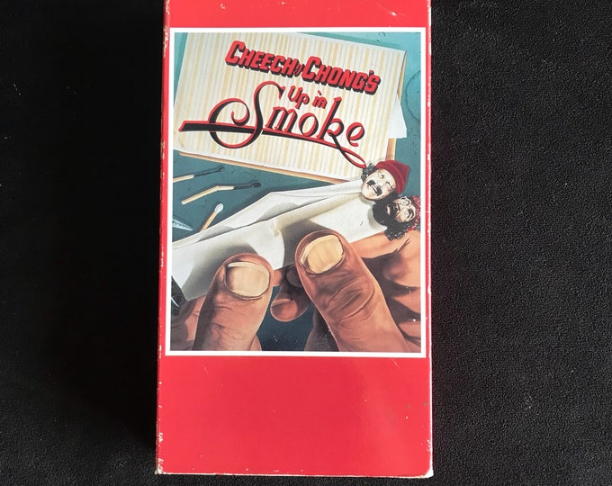 Cheech & Chong - Up In SMOKE Vintage Movie VHS