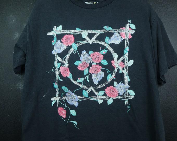 Roses 1990's vintage Tshirt