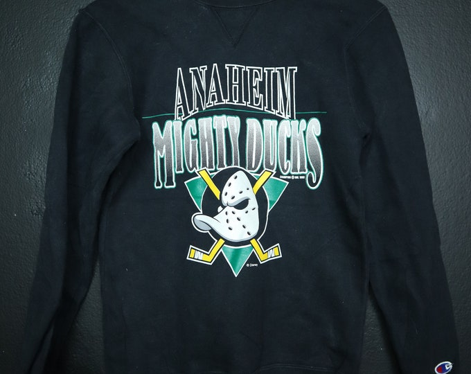 Anaheim Mighty Ducks NHL 1993 vintage Champion sweatshirt