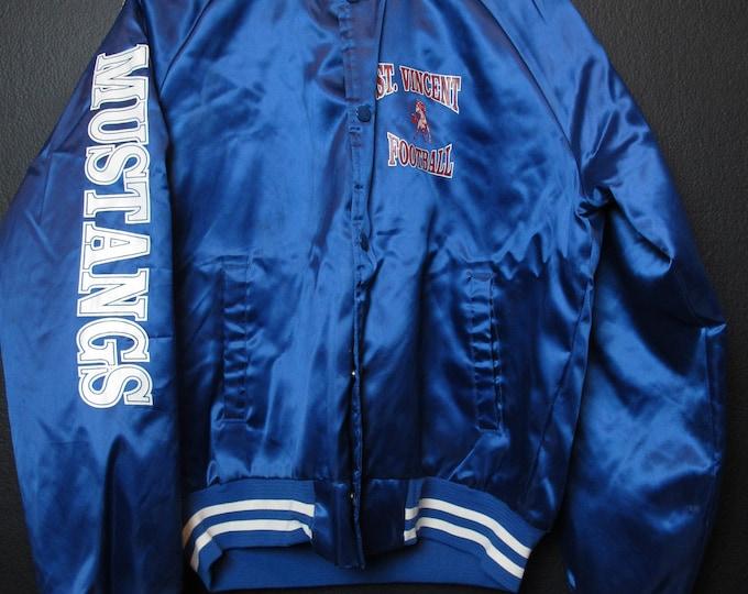 Petaluma St-Vincent Mustangs Football vintage Jacket