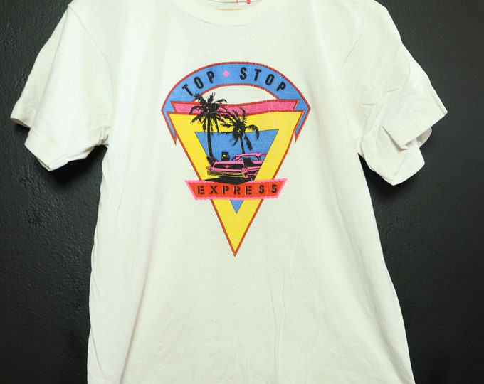 Top Stop Express Car 1990's vintage Tshirt