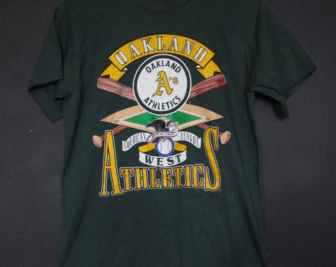 MLB Oakland Athletics A's 1992 vintage Tshirt