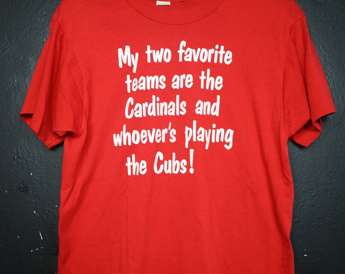 Favorite Team St-Louis Cardinals MLB 1990's vintage Tshirt
