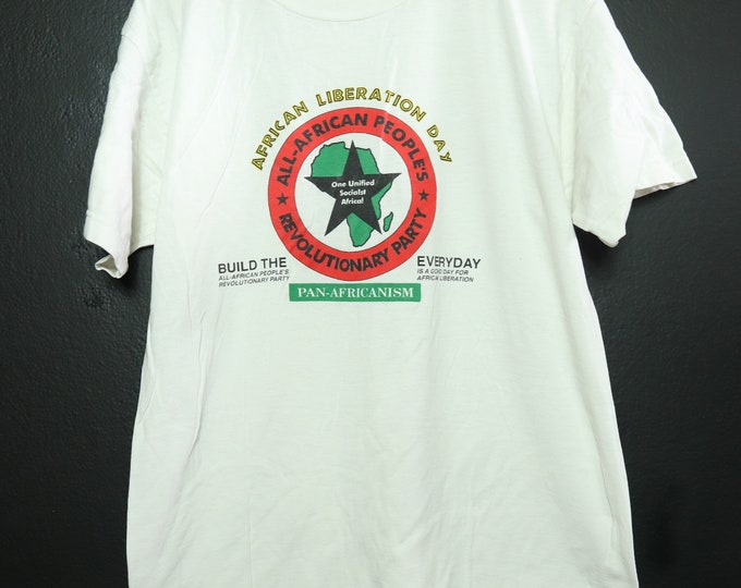 African Liberation Day Vintage Tshirt Revolutionary Party