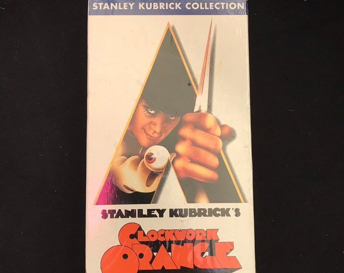 Stanley Kubrick's Clockwork Orange Vintage Movie VHS
