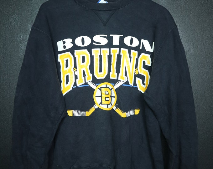 Boston Bruins NHL 1990s Vintage Champion Sweatshirt
