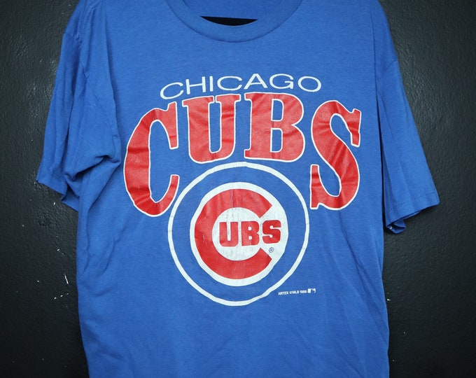 Chicago Cubs MLB 1988 Vintage Tshirt
