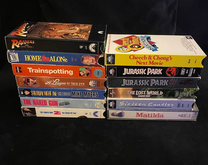 Choose One Or More! 1990's Vintage Movie VHS