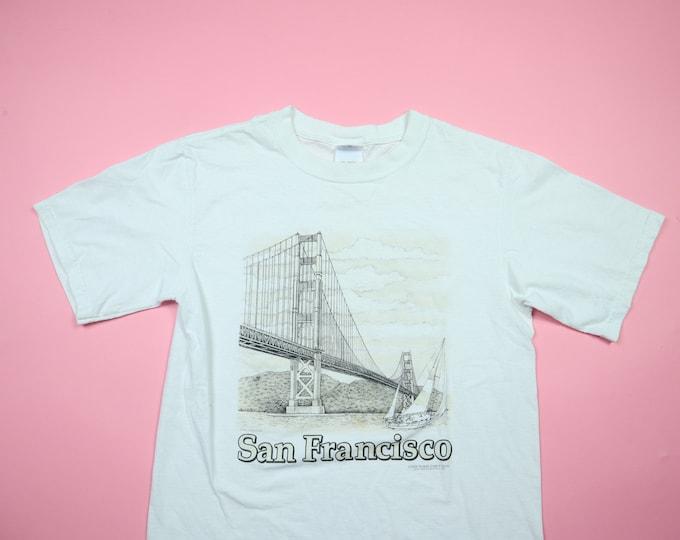 San Francisco Golden Gate Bridge vintage tshirt