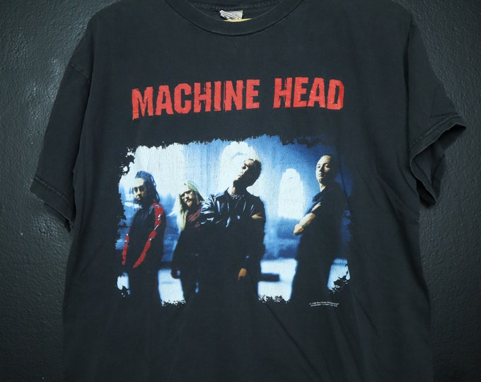 Machine Head 1999 Vintage Tshirt