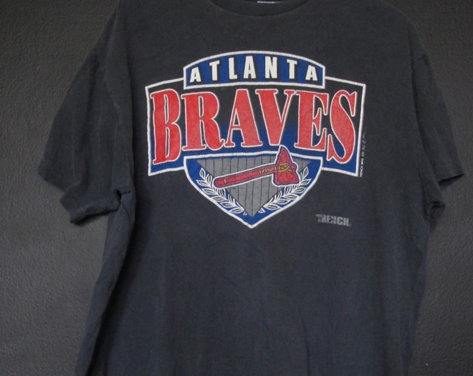 Atlanta Braves MLB 1990's vintage Tshirt
