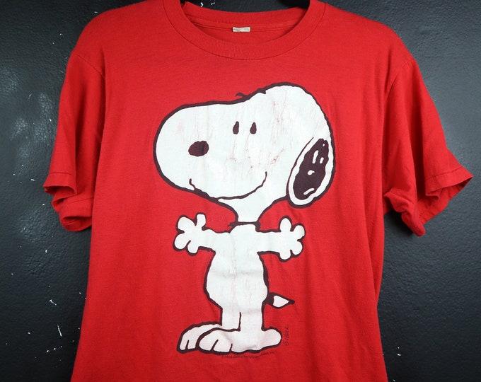 Snoopy Peanuts 1980's vintage Tshirt