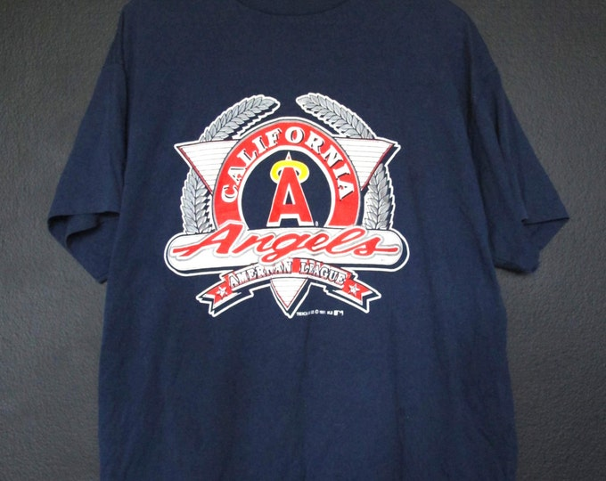 California Anaheim Angels MLB 1991 vintage Tshirt