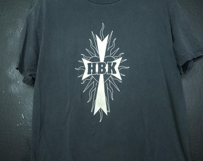 HBK Just Man Rises WWF Wrestling Vintage Tshirt
