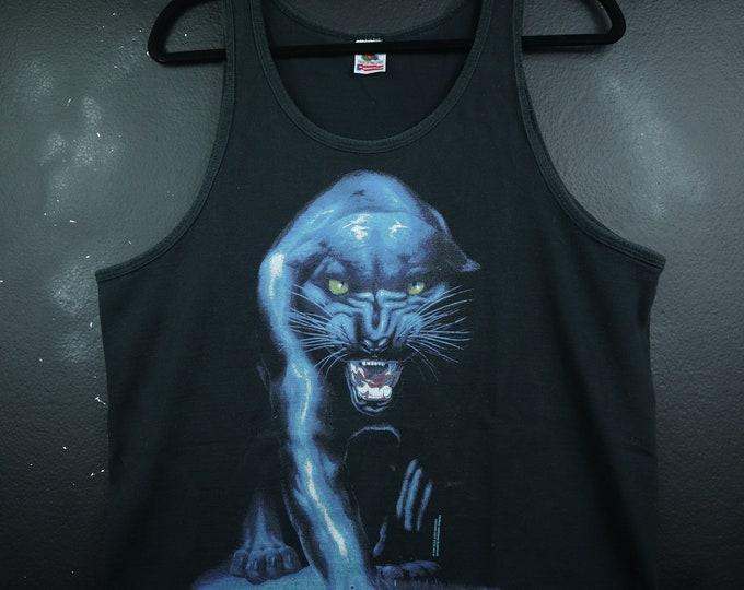 Black Panther 1997 Vintage Tank Top